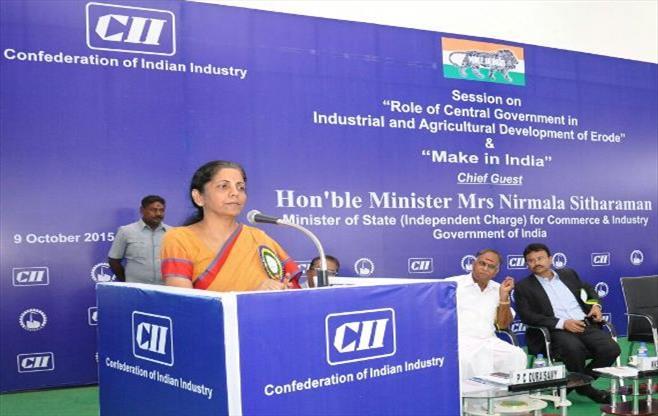 Hon'ble Minister Ms. Nirmala Sitharaman