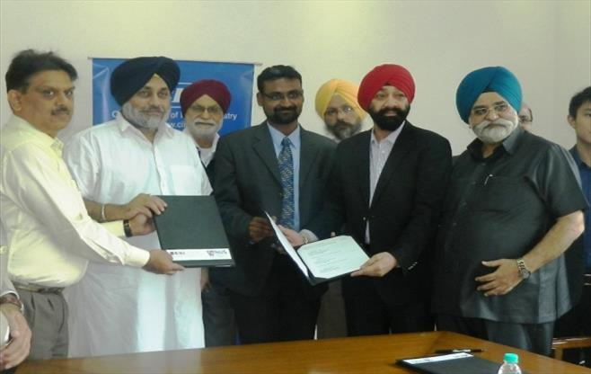 CII LKY Punjab Govt sign historic MoU