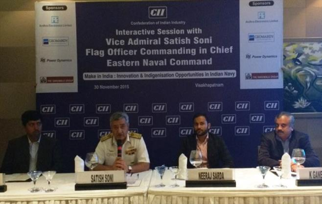 Interactive Session with Vice Admiral S