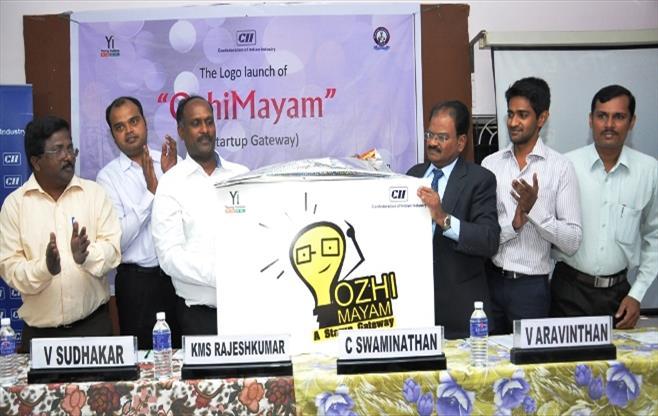 "The Logo launch of ""OzhiMayam"""