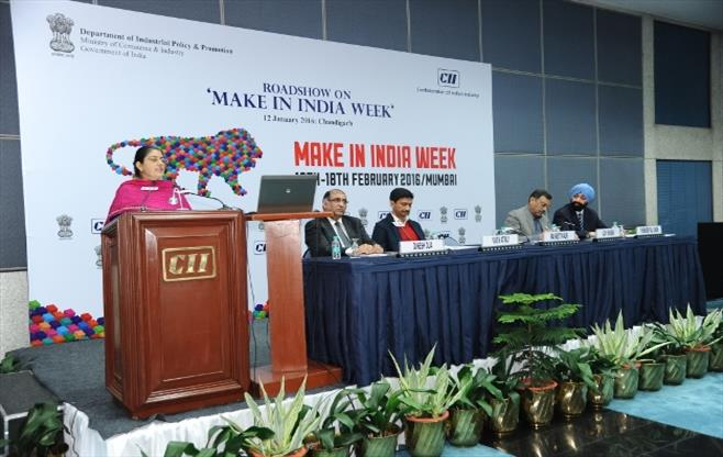 Roadshow on Make in India Week