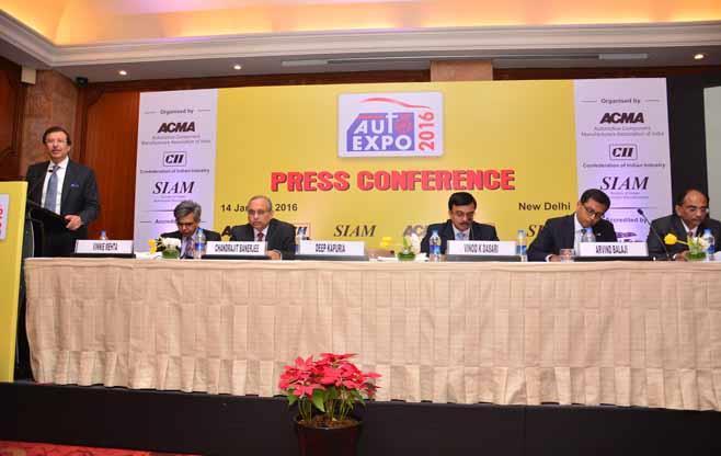 Auto Expo 2016 Press Conference