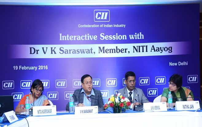 Interactive Session with Dr.VK Saraswat