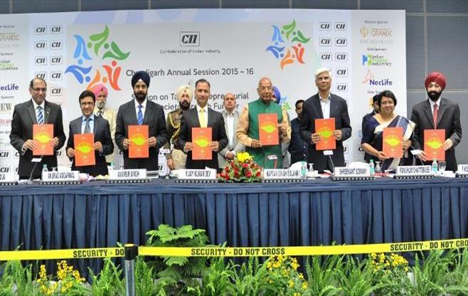 CII Chandigarh Annual Session 2015-16