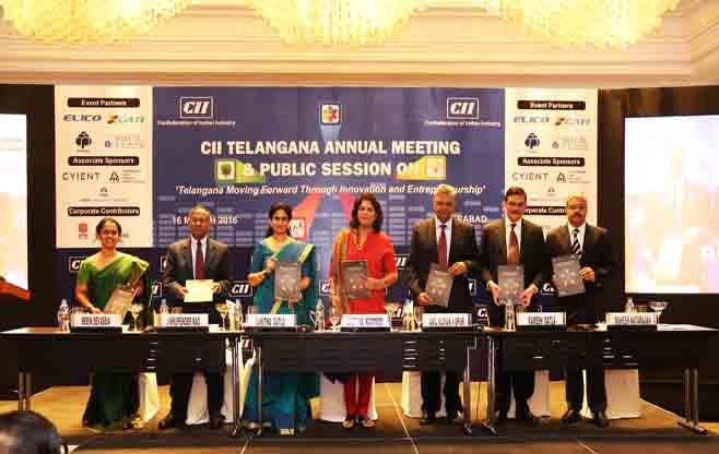Telangana Annual Day Business Session