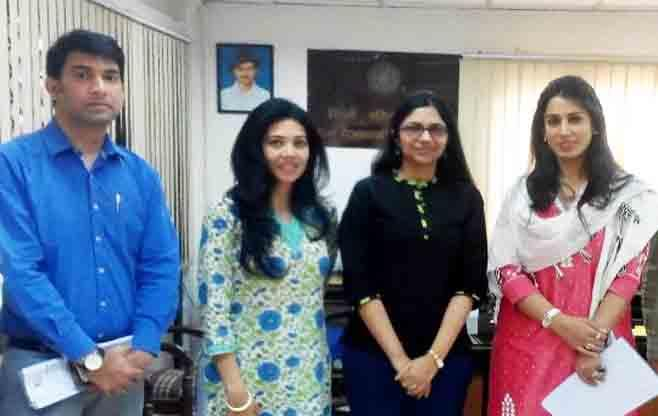 Meeting with Swati Maliwal