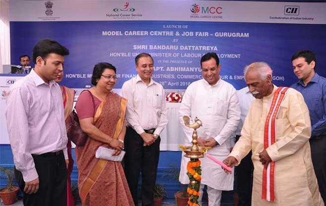 Inaugural of Model Career Centre & Job Fair