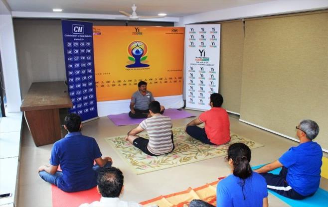 International Yoga Day Session
