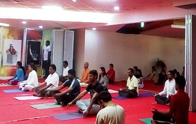 International Yoga Day in CII Vizag