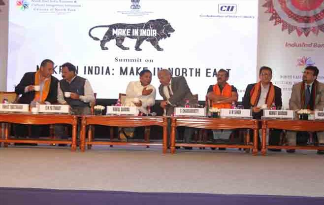 Make in India-Make in North East Summit