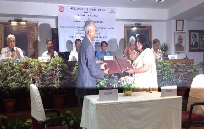 MoU with Indian Railways