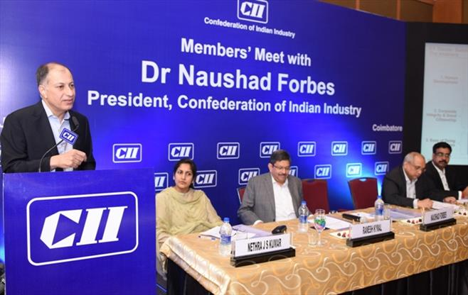 Members Meet with President, CII