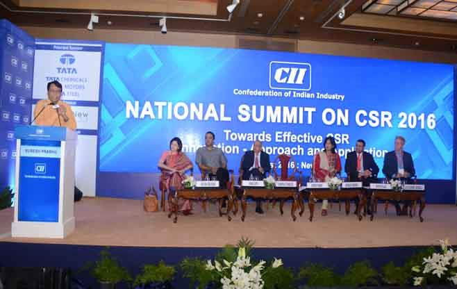 National Summit on CSR 2016