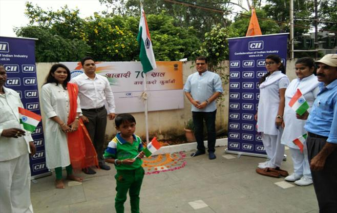 Independence day celebration - Raipur