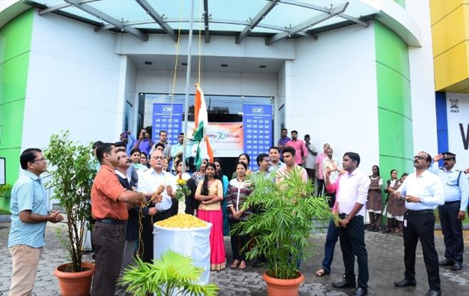 Independence day Celebrations at Cochin