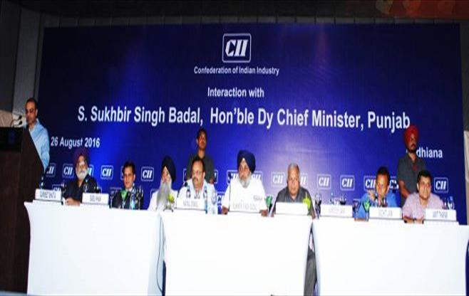 Interaction with S Sukhbir Singh Badal