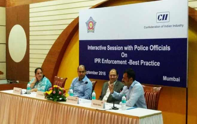 Session with Police Officials on IPR
