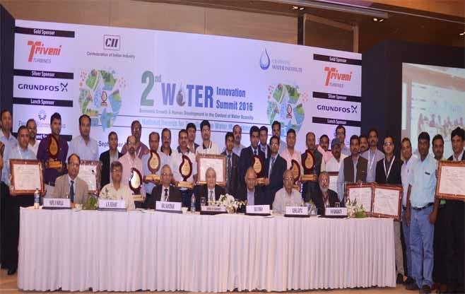 Excellence in Water Management Awardees