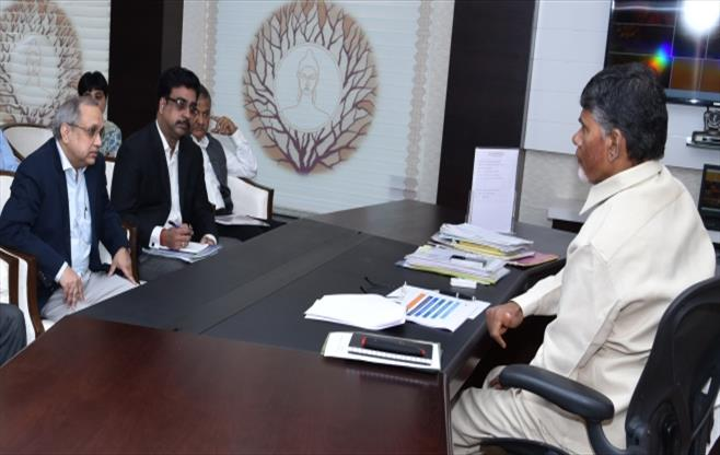 Meeting with Chief Minister of AP