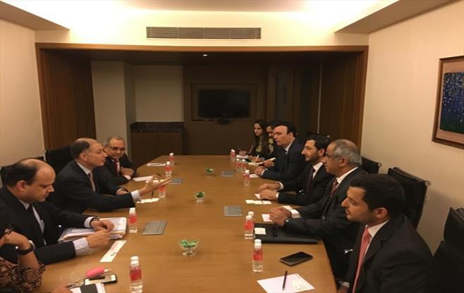 Leadership meeting with UAE delegation