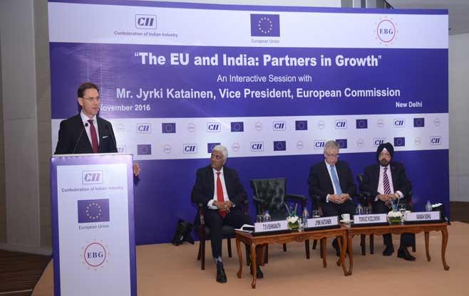 Interactive Session on The EU and India