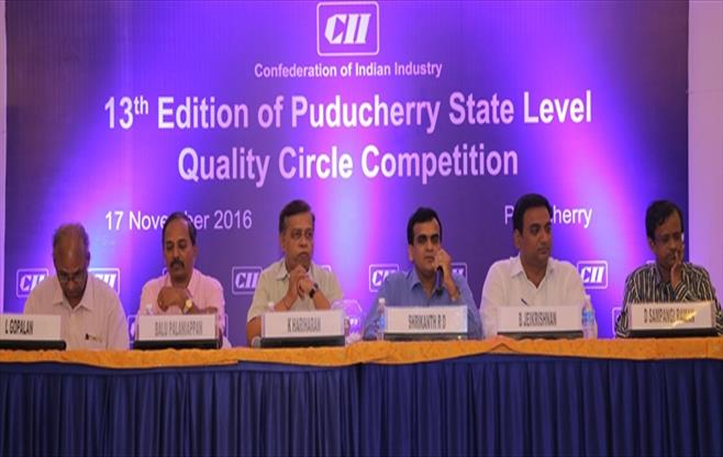 13th Edition of CII Puducherry QC