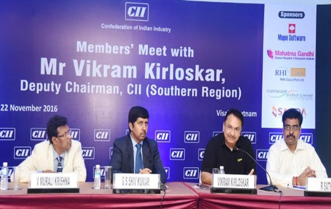 Member's Meet with Mr Vikram Kirloskar