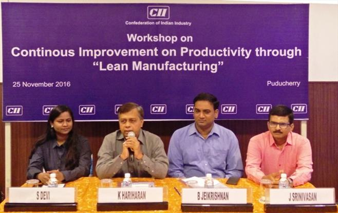Workshop on LEAN MANUFACTURING