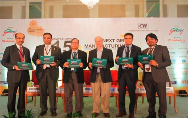 15th CII Manufacturing Summit 2016