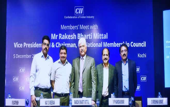Member's Meet with CII Vice President