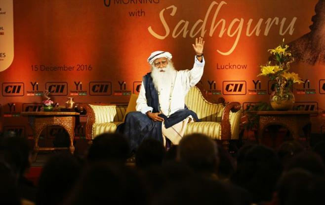 Interactive session with SADHGURU