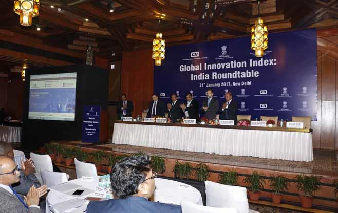 Launch of India Innovation Index Portal
