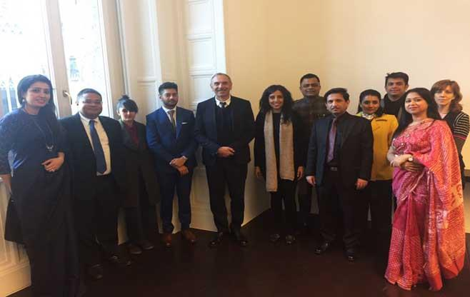 Luxury delegation to Milan