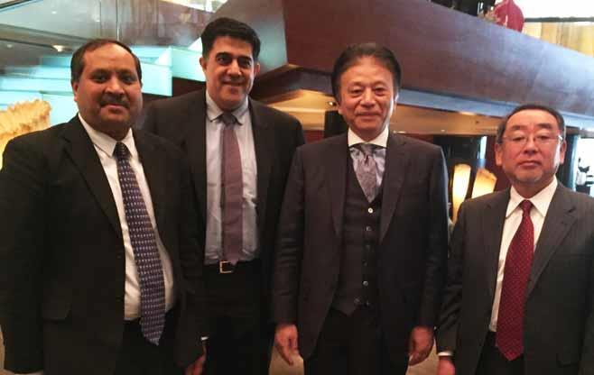 Meeting with Mr Hideki Okamura