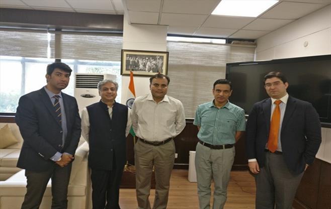 Meeting with Mr. Amulya Patnaik