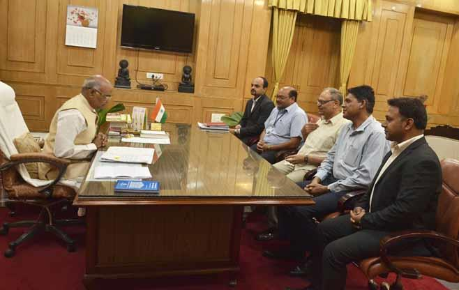 Interaction with Mr Ram Nath Kovind