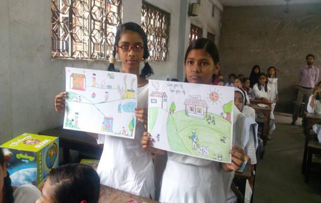 CII organized Sit & Draw Competition