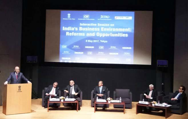 Session on India's Business Environment
