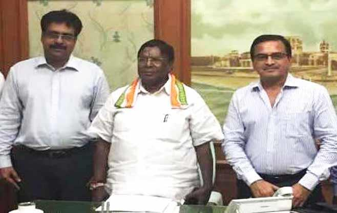 Meeting with Mr V Narayanasamy
