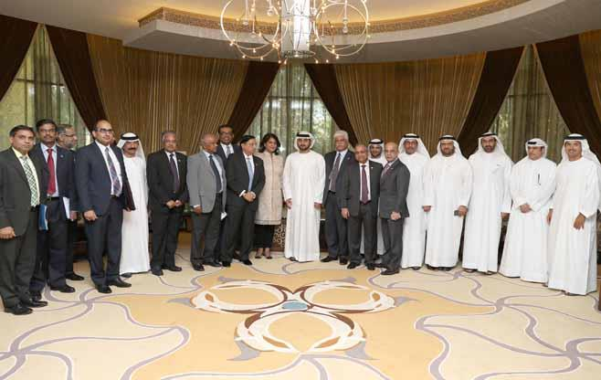 CII CEOs delegation visit to UAE