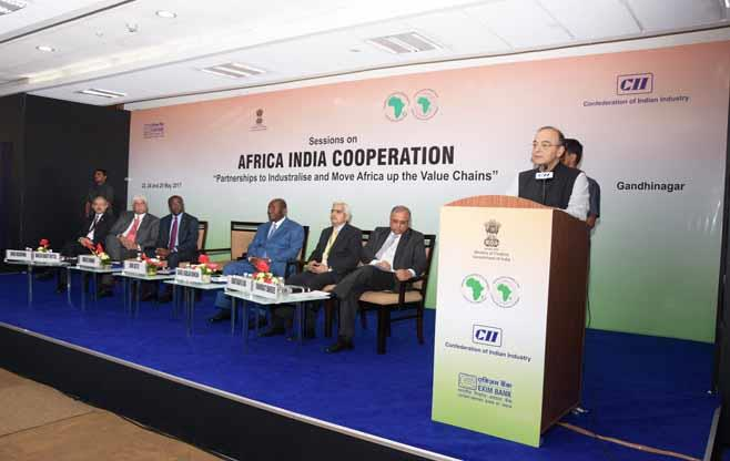 Session on Africa-India Cooperation
