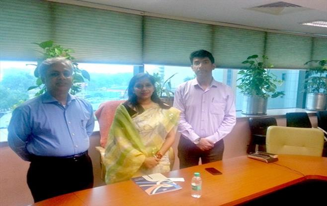 Meeting with Ms Preeti Aggarwal,