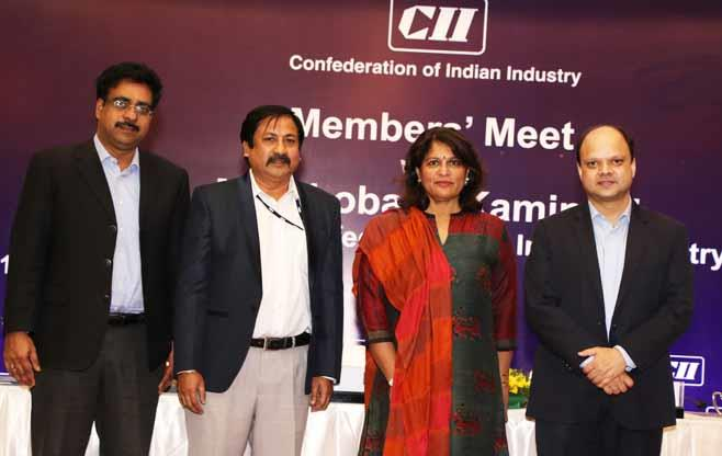 Members Meet with President CII