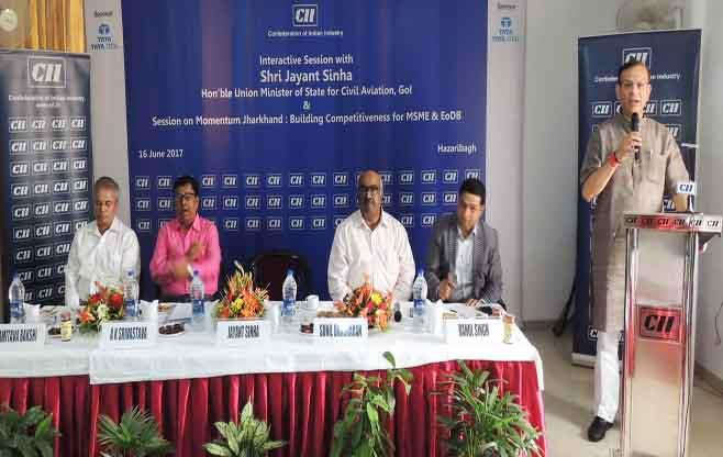 CII Session on Momentum Jharkhand