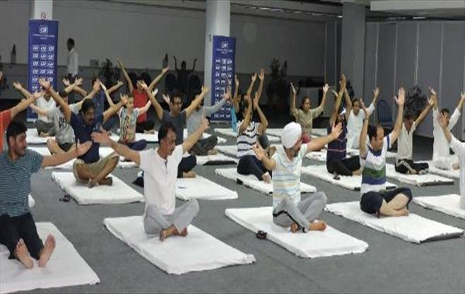 CII International Yoga Day Chandigarh