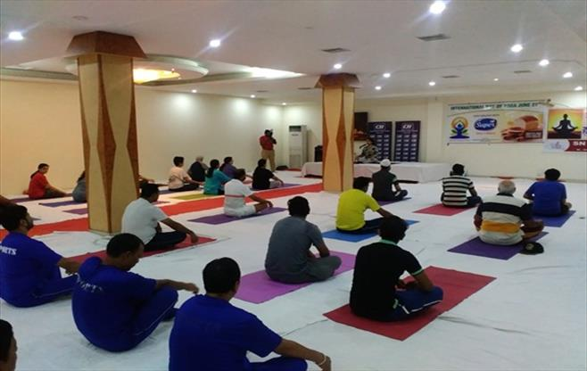 CII Ludhiana Celebration Yoga Day