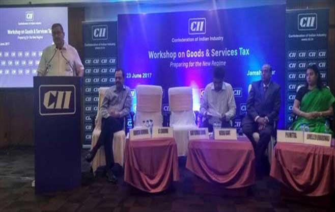 Session on GST at Jamshedpur