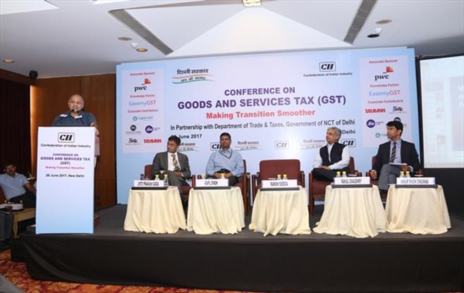 Government of Delhi addressing on GST