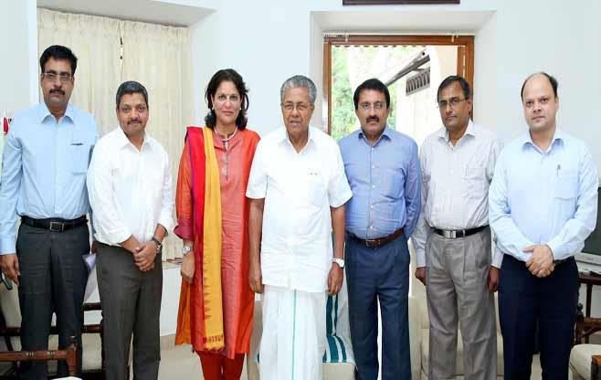 Meeting with Chief Minister of Kerala