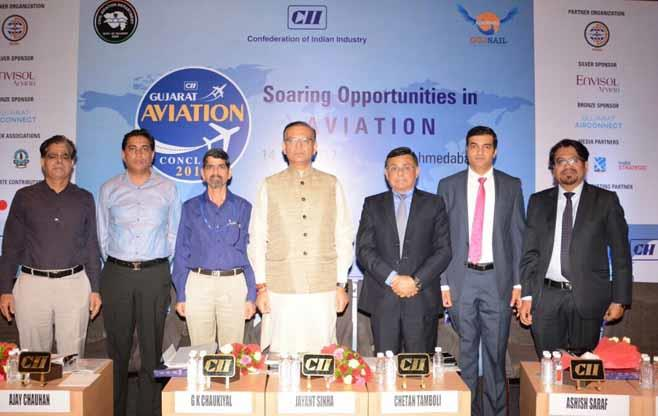 CII Gujarat Aviation Conclave 2017